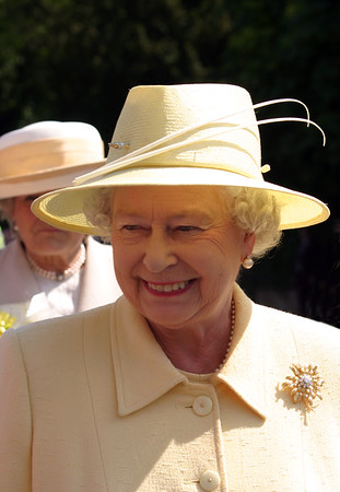 HRH Queen Elizabeth II, visit to Cambridge, June 2005
