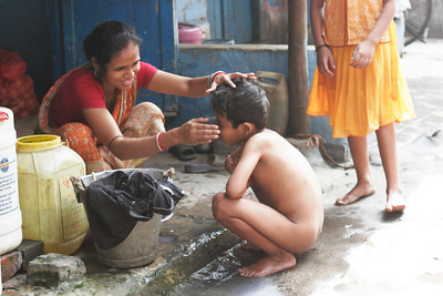 Morning care, Calcutta, Kolkata