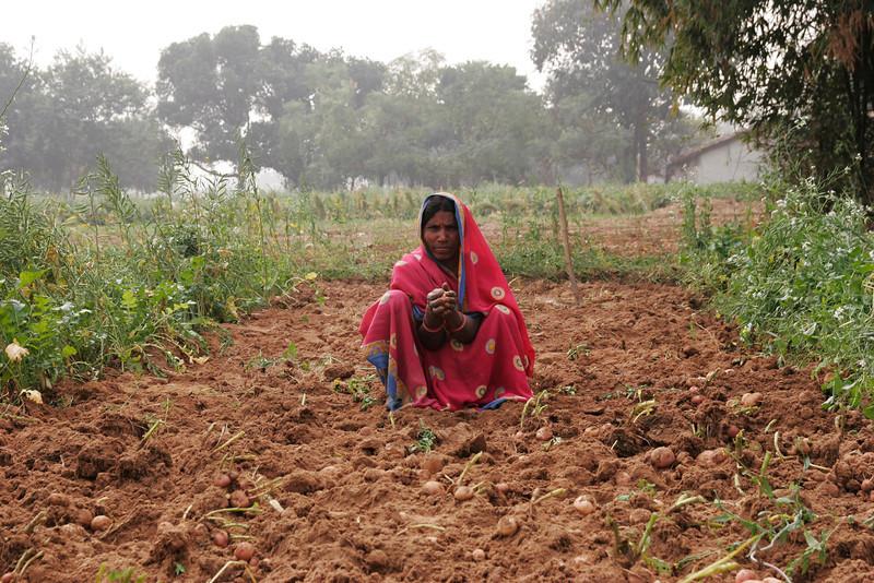 Farmer from Ranchi tribe, New Delhi