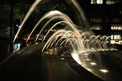 Columbus Circle Fountain