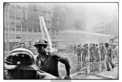 Incêndio no Edifício Barão de Mauá.  1981.