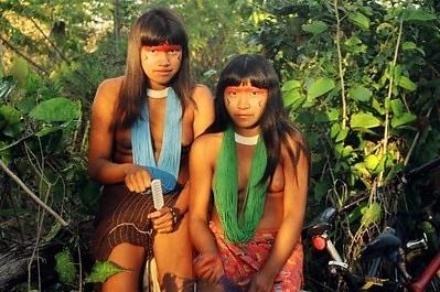 Aldeia Kamayura, Xingu, Mato Grosso copyright (c) 2007 Juliano Serra