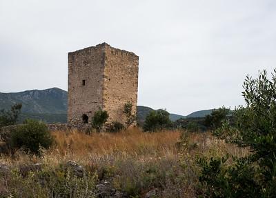 Ein typisches Turmhaus in der Mani.