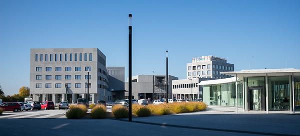 Der Neubau in Wetzlar mit Hotel und Museum ist bald fertiggestellt (Oktober 2017).