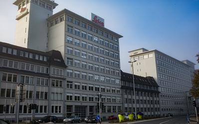 Das historische Leitz-Gebäude in Wetzlar wird heute von der unabhängigen Leica Microsystems GmbH genutzt.