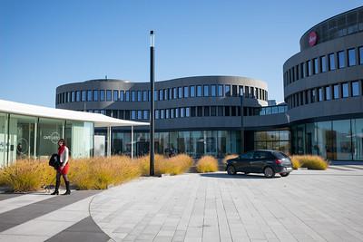 Der neue Firmensitz der Leica Camera AG in Wetzlar (seit 2014).