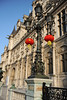 Paris Town Hall decorated for the Chinese New Year
