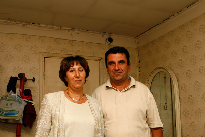Kanarik et Arthur Minassian, fondateurs et dirigeants du centre.