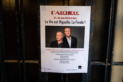 l'Archiduc La Vie est Riguelle: La Finale! © Bart Leye