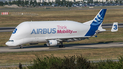 Airbus Transport International / Airbus A300B4-608ST / F-GSTC / Think Mobility Join Us Livery