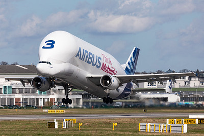 Airbus Transport International / Airbus A300B4-608ST Super Transporter / F-GSTC