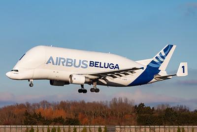 Airbus Transport International / Airbus A300B4-608ST Super Transporter / F-GSTA