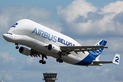 Airbus Transport International / Airbus A300B4-608ST Super Transporter / F-GSTB