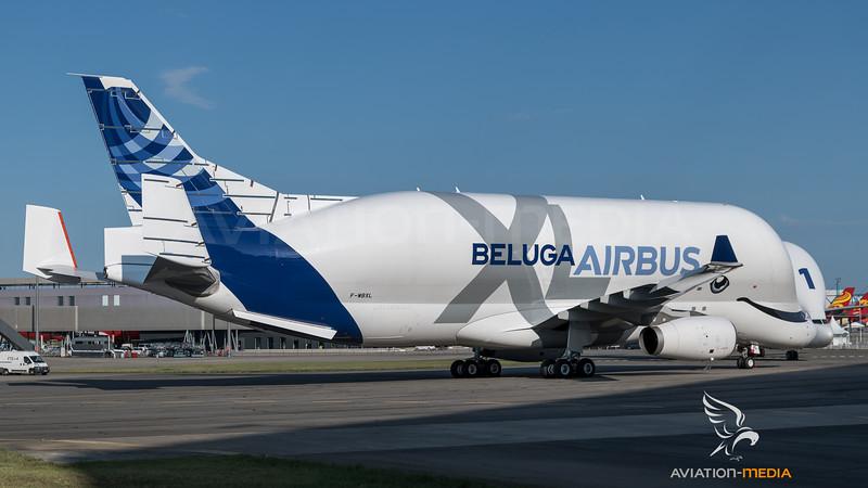Airbus Transport International / Airbus A330-743L & Airbus A300B4-608ST / F-WBXL & F-GSTA