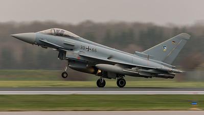 German Air Force TLG74 / Eurofighter Typhoon / 30+66