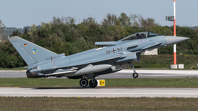 German Air Force TLG74 / Eurofighter Typhoon / 30+93