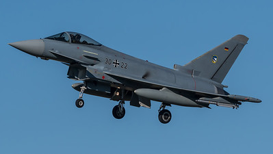 German Air Force TLG74 / Eurofighter Typhoon / 30+22