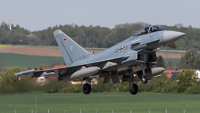 German Air Force TLG74 / Eurofighter Typhoon / 30+53