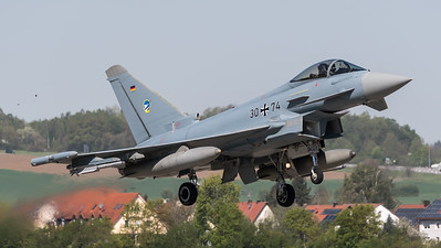 German Air Force TLG74 / Eurofighter Typhoon / 30+74