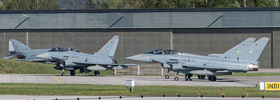 German Air Force TLG74 / Eurofighter Typhoon / 30+93, 31+02, 30+70