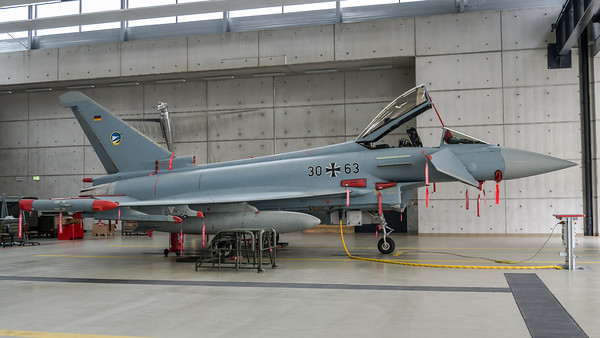 German Air Force TLG74 / Eurofighter Typhoon / 30+63