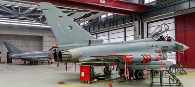 German Air Force TLG74 / Eurofighter Typhoon / 30+88, 30+63