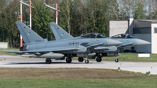 German Air Force TLG74 / Eurofighter Typhoon / 30+93, 31+02