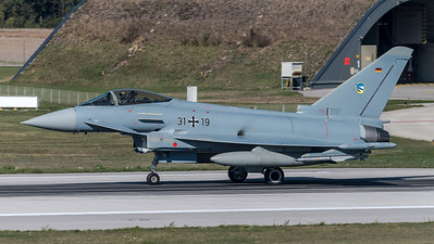 German Air Force TLG74 / Eurofighter Typhoon / 31+19