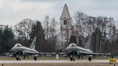 German Air Force TLG74 / Eurofighter Typhoon / 30+26, 30+29