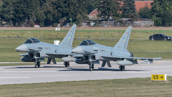 German Air Force TLG74 / Eurofighter Typhoon / 30+22, 31+19