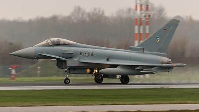 German Air Force TLG74 / Eurofighter Typhoon / 30+11