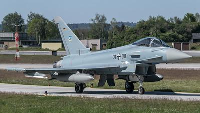 German Air Force TLG74 / Eurofighter Typhoon / 31+00
