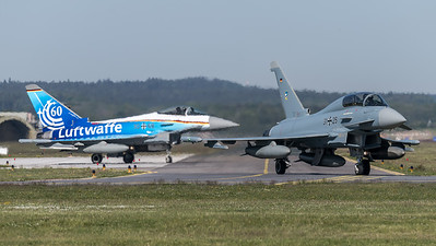 German Air Force TLG74 / Eurofighter Typhoon / 31+25, 30+68