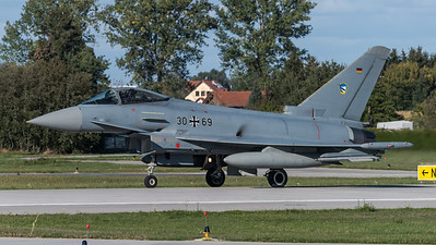 German Air Force TLG74 / Eurofighter Typhoon / 30+69