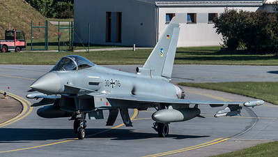 German Air Force TLG74 / Eurofighter Typhoon / 30+76