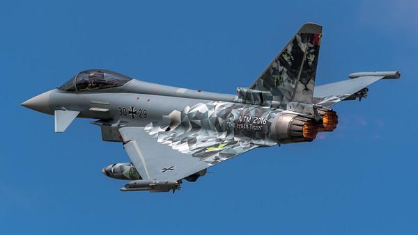 German Air Force TLG74 / Eurofighter Typhoon / 30+29 / Cyber Tiger