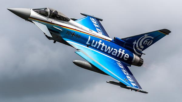 German Air Force TLG74 / Eurofighter Typhoon / 30+68 / 60th Anniversary Luftwaffe