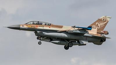 Israeli Air Force 105 Squadron / Lockheed Martin F-16D Block 40 / 682