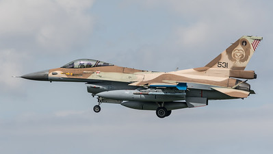 Israeli Air Force 101 Squadron / Lockheed Martin F-16C Block 40 / 531