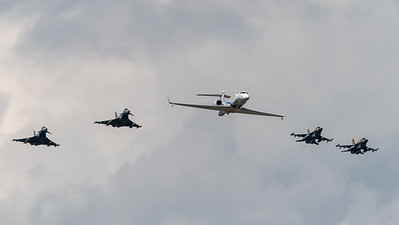 Israeli Air Force 122 Squadron 105 Squadron & German Air Force TLG-31 / Gulfstream G550 Aitam and Lockheed Martin F-16D Block 40 & Eurofighter Typhoon / 569 and 682, 676 & 31+05, 31+39