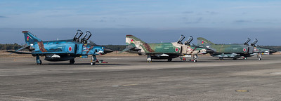 JASDF 501 Hikotai / McDonnell Douglas RF-4E, RF-4EJ Phantom II / 47-6901 & 57-6907, 77-6397
