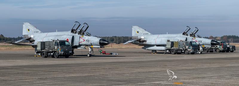 JASDF 301 Hikotai / McDonnell Douglas F-4J Phantom II / 07-8434 & 67-8378
