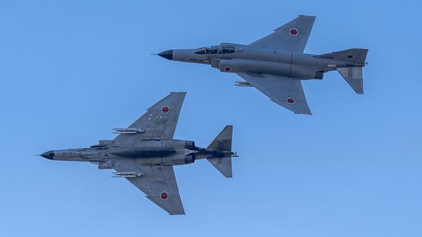JASDF 301 Hikotai / McDonnell Douglas F-4J Phantom II / 17-8439 & 17-8440
