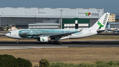 Azores / Airbus A330-223 / CS-TRY / Whale Livery
