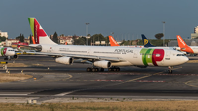 TAP / Airbus A340-312 / CS-TOB