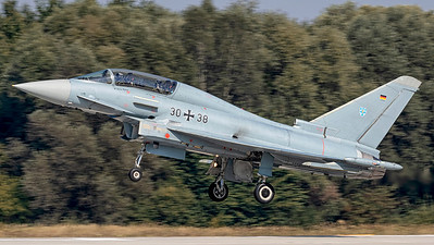 Germany Air Force / Eurofighter / 30+38