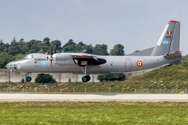 Romania Air Force / Antononv An-30 / 1105