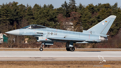 Germany Air Force / Eurofighter / 31+32