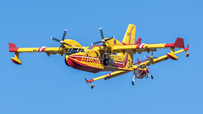 Securite Civile / Canadair CL-415 / F-ZBFX 34 F-ZBEG 39