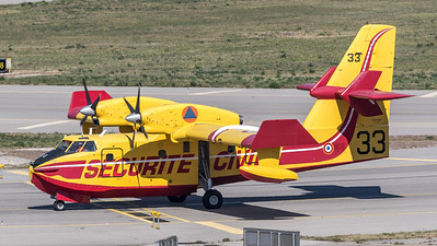 Securite Civile / Canadair CL-415 / F-ZBFN 33